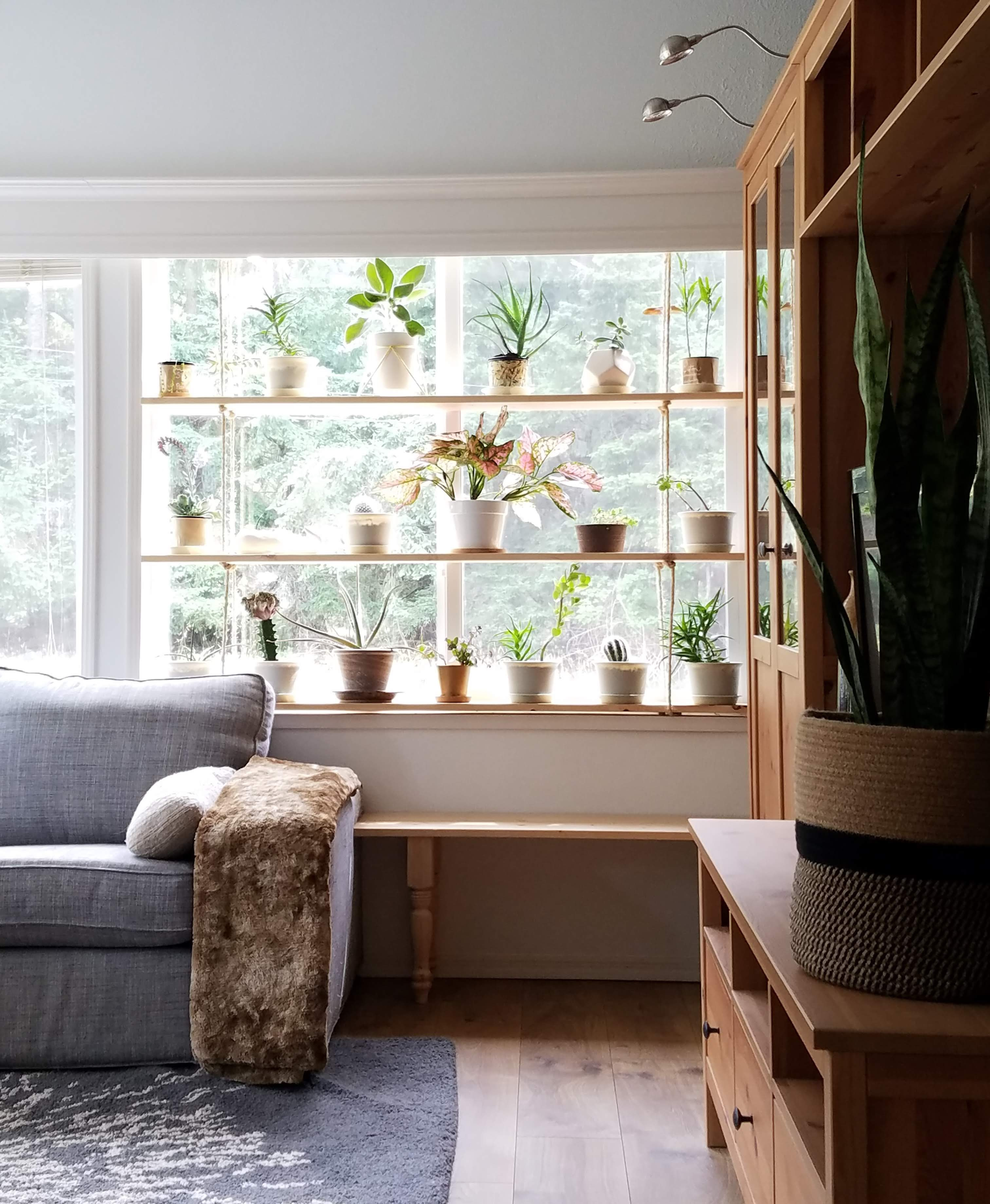 Hanging Plant Shelves – The Artful Roost